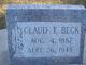 Profile photo:  Claudius Theodore Beck