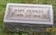 Profile photo:  Mary <I>McKeever</I> Deshler