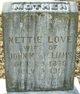 Nettie <I>Love</I> Williams
