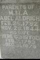 Profile photo:  Abel Aldrich, Jr