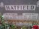 Profile photo:  Bertha Hatfield