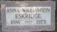 Profile photo:  Anna Spillman <I>Williamson</I> Eskridge