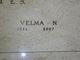 Velma Naomi <I>DeWitt</I> Webster