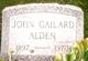 Profile photo:  John Gailard Alden