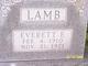 Everett Elmer Lamb