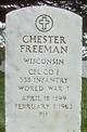 Chester Freeman
