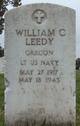 Lieut William Clark Leedy