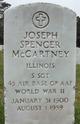 "Joseph Spencer ""Mac"" McCartney"