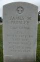 CPL James M Presley