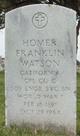 Homer Franklin Watson