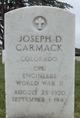 CPL Joseph D Carmack