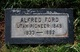 Profile photo:  Alfred Charles Ford