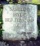 Samuel D Myers