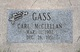 Carl McClellan Gass