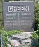 Sarah Ellen <I>Hon</I> Green