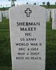 Sherman Maxey