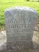 Mary Anna <I>Schuckman</I> Bueter