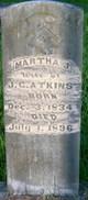 Martha J. <I>Keys</I> Atkins