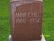 Anna Ethel <I>Seward</I> Hill