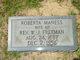Roberta L <I>Maness</I> Freeman