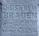 Christina Braden