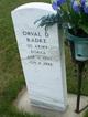 Orval D Radke