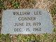 William Lee Conner