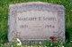 """Margaret Ella """"Maggie"""" <I>Miller</I> Scheel"""