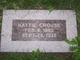 Hattie <I>Preston</I> Crouse