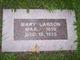 Mary Larson