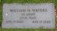 William H Waters