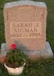 Sarah J. Sigman