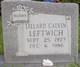 "Lillard Calvin ""Sheep"" Leftwich"