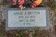 Profile photo:  Annie Ambrose <I>Benton</I> Benton