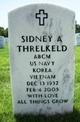 Sidney Albert Threlkeld