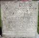 Doris Christine Leftwich
