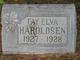 Profile photo:  Faye Elva Haroldsen