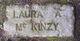 Laura A <I>Withey</I> McKinzy
