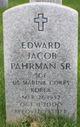 Profile photo: Sgt Edward Jacob Pahrman, Sr