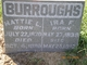 Ira F Burroughs