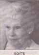 Profile photo:  Margaret <I>Lacey</I> Boyte