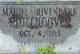 Maude <I>Rivenbark</I> Ridlehoover