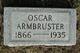 Profile photo:  Oscar Armbruster