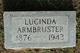 """Profile photo:  Alma Lucinda """"Lou"""" <I>Johnson</I> Armbruster"""