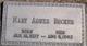 Mary Agnes Becker