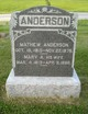 Mary A. <I>McClure</I> Anderson