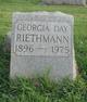 Profile photo:  Georgia <I>Day</I> Riethmann