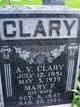 "Profile photo:  Agrippa Valentine ""A.V."" Clary"