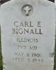 "Carl Eugene "" "" <I> </I> Bignall,"