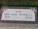 "Profile photo:  Ida Ann ""Mimi"" <I>Chapman</I> Burrell"